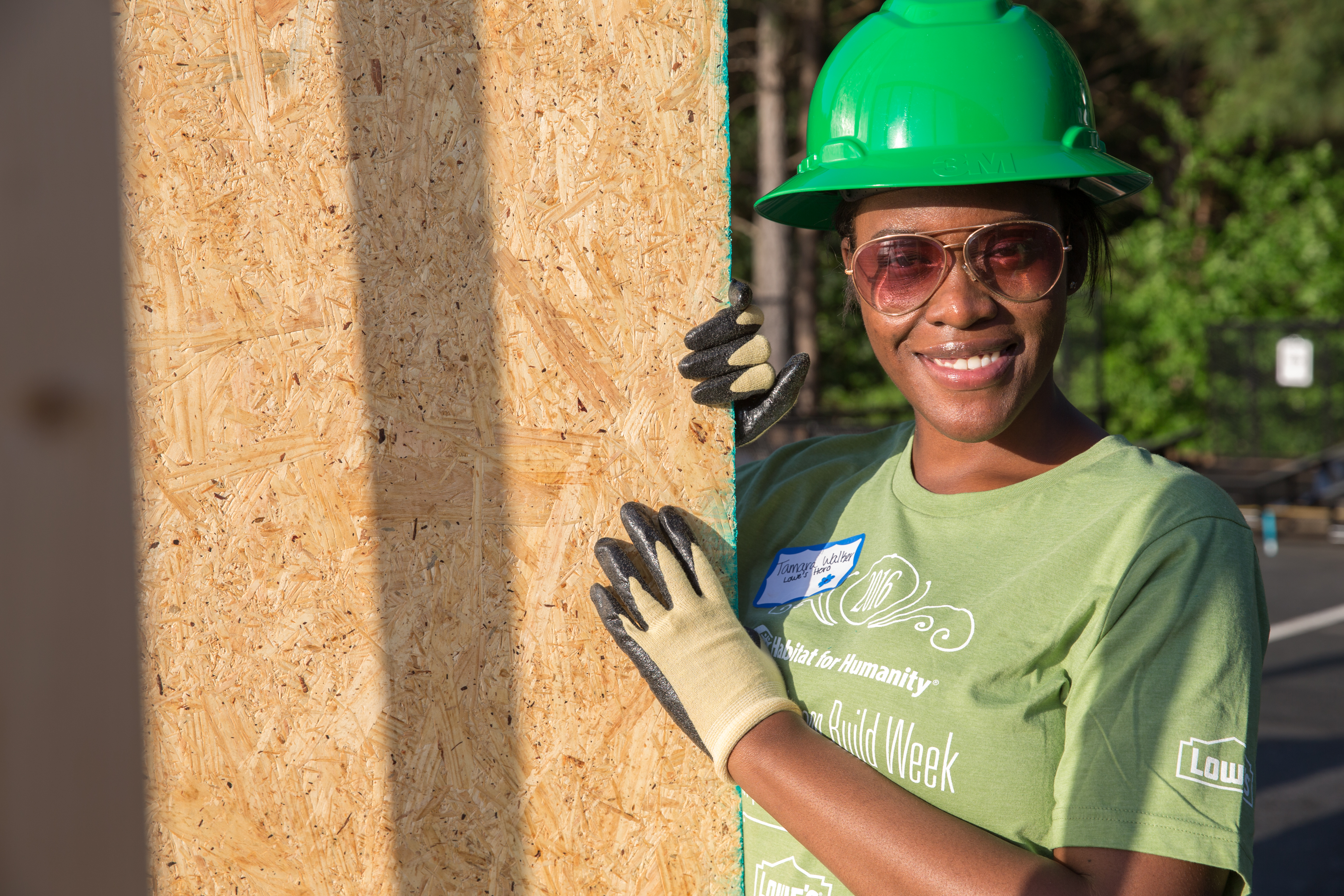 Habitat Volunteer