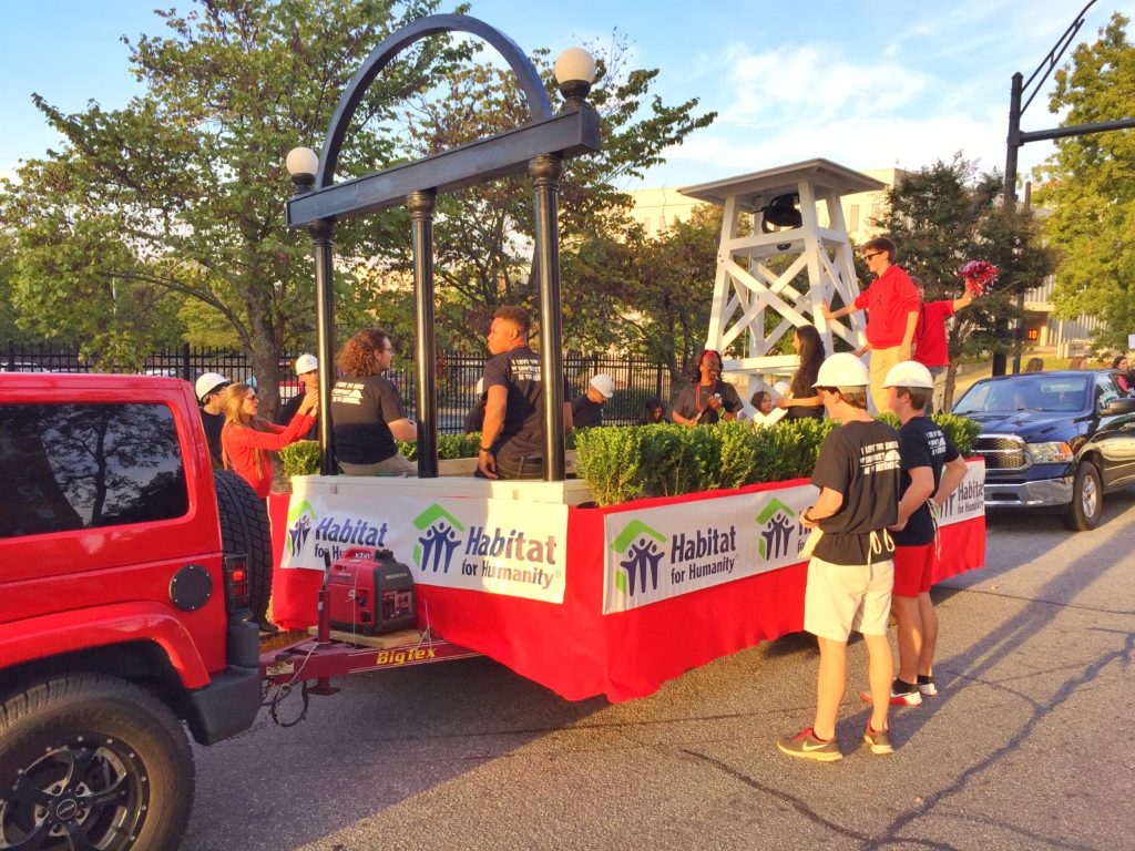 Uga Chapter Of Habitat For Humanity Is Homecoming Parade