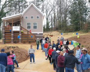Habitat home dedication, Athens, GA