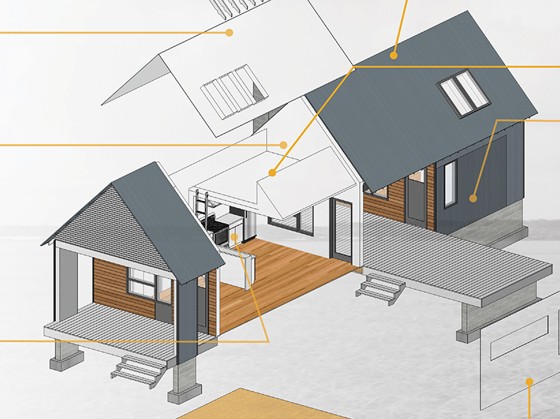 Dog trot house design
