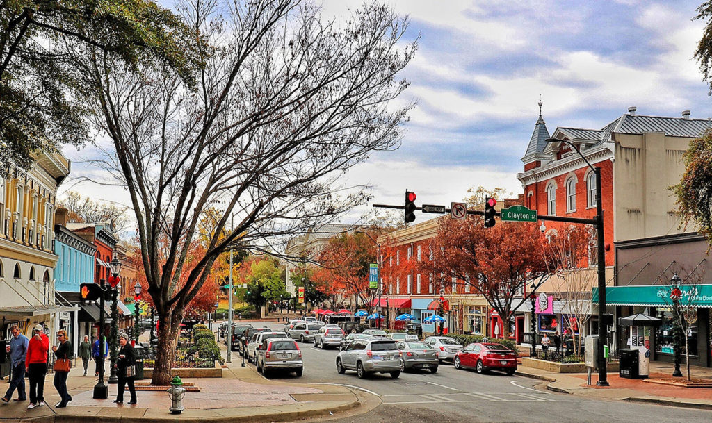 Downtown Athens, GA