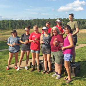 Ladies' Charity Skeet Classic champions