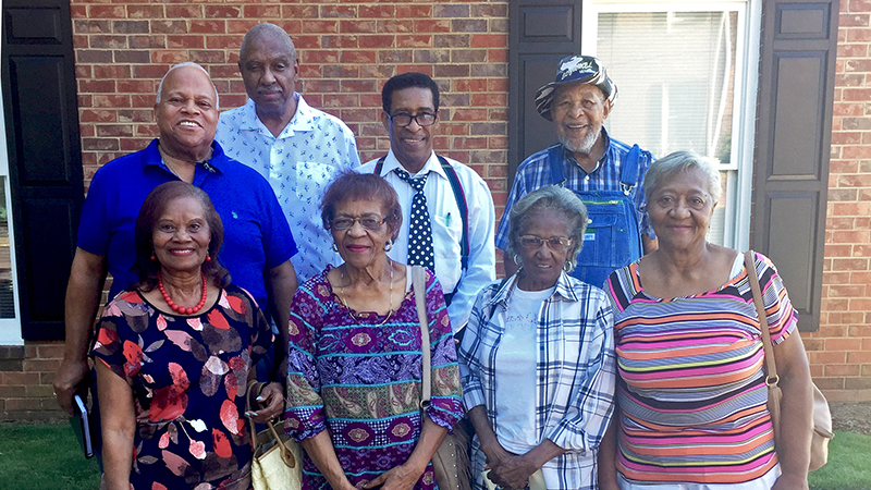 Members of St. James Baptist Church of Athens, GA